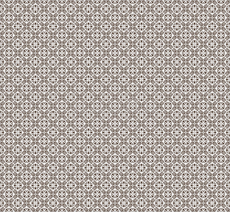Vector Pattern White And Brown. Stock Vector