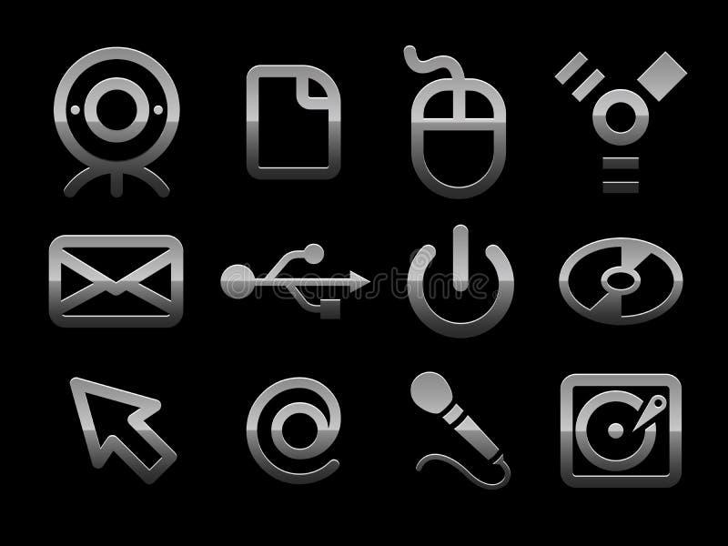 Vector pc icon set