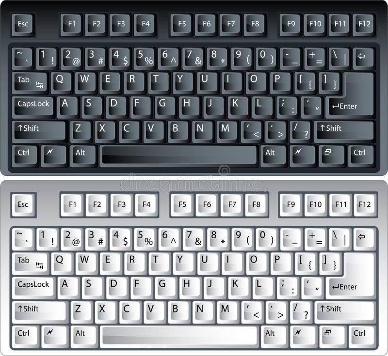 Download Vector pc keyboards stock vector. Illustration of equipment - 7220143