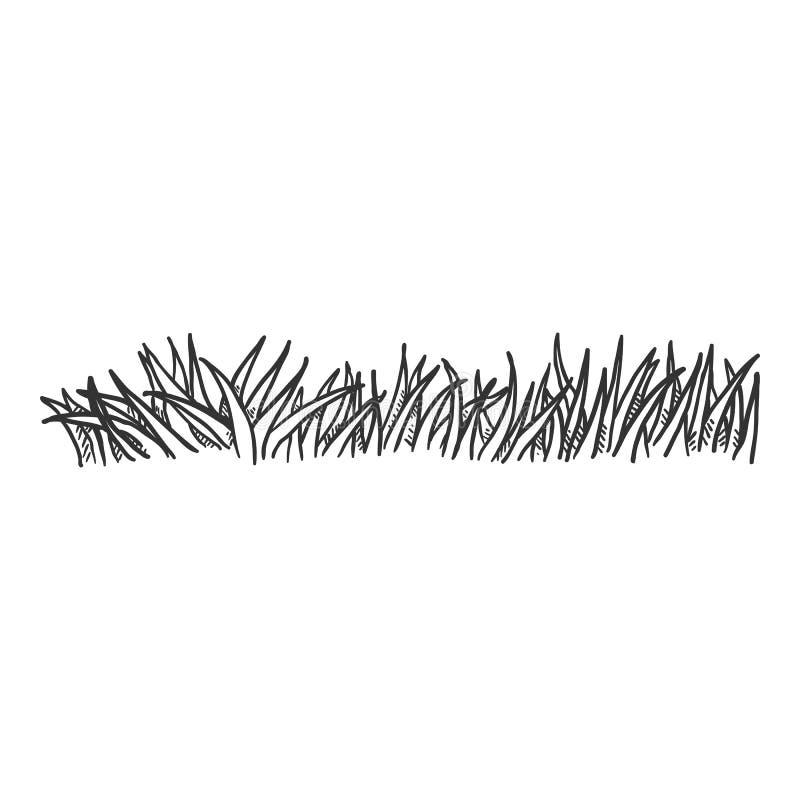 Free Vector Penciling Sketch Grass Stock Photos - 170304743