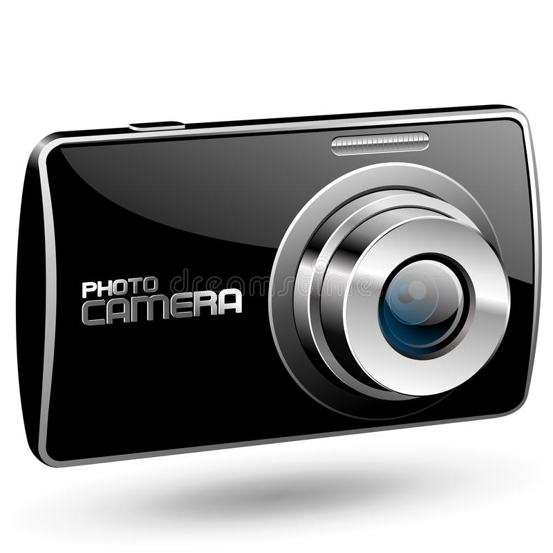 Download Vector Photo camera stock vector. Illustration of camera - 17049304