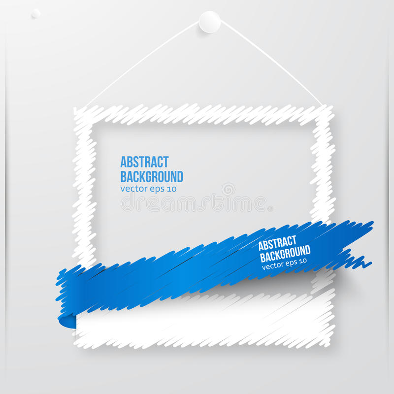 Free Vector Photo Frame Banner. Vector Illustration. Stock Images - 37110284