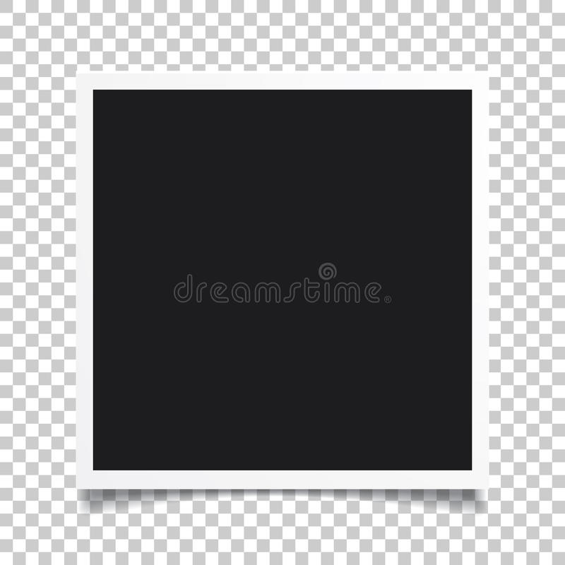 Free Vector Photo Frame.Set Of Realistic Paper Instant Photograph.Template Design. Stock Photos - 96863833