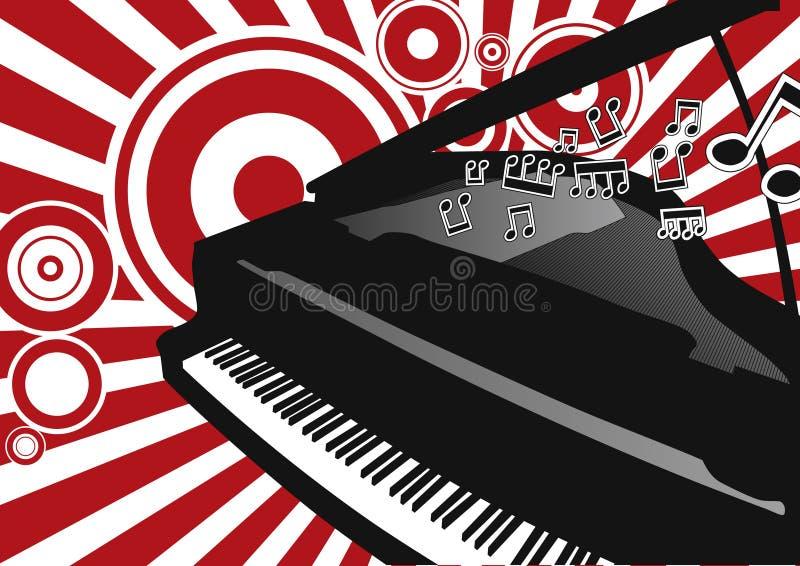 Download Vector Piano stock illustration. Illustration of illustration - 10341287