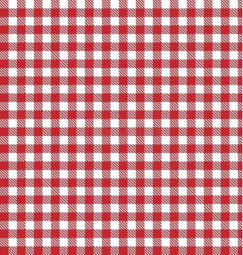 Vector picknickachtergrond. royalty-vrije illustratie