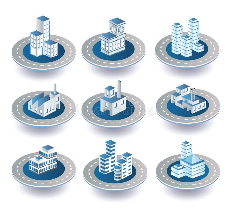 Vector pictogrammen stock illustratie