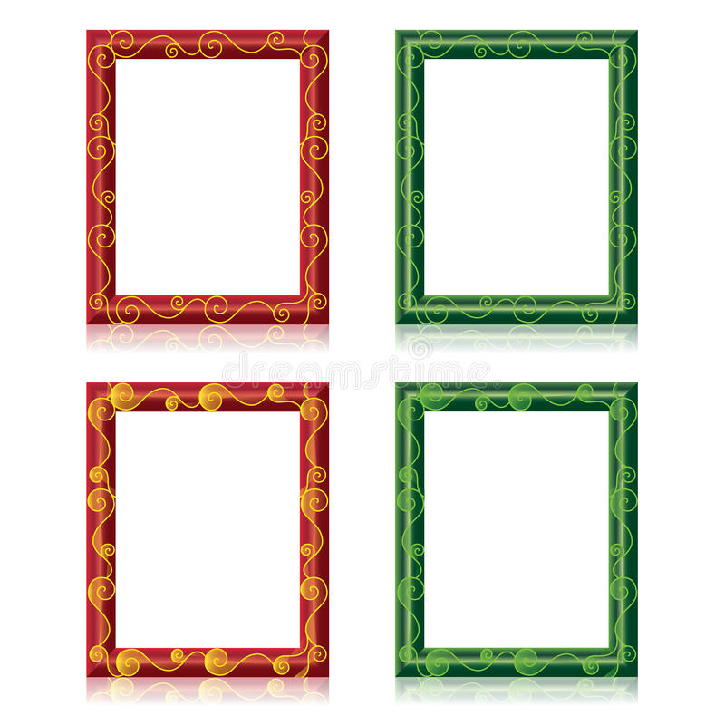 Download Vector picture frame stock vector. Image of border, photo - 32218297
