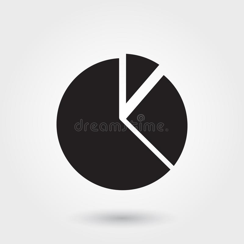 Vector, Pie chart, Business, Report Glyph Icon perfect for website, mobile apps, presentation vector illustration
