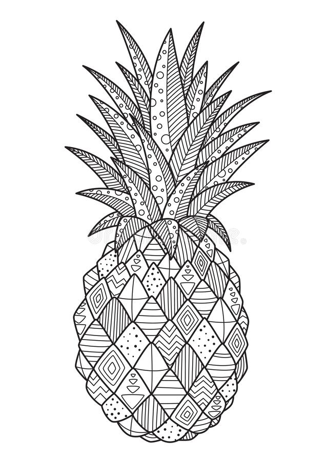 - Pineapple Coloring Page Stock Illustrations – 223 Pineapple Coloring Page  Stock Illustrations, Vectors & Clipart - Dreamstime