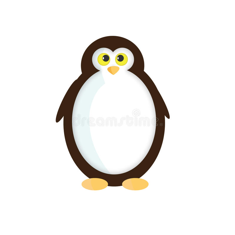 Vector pinguïn stock fotografie