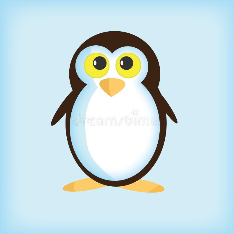 Vector pinguïn royalty-vrije stock foto's