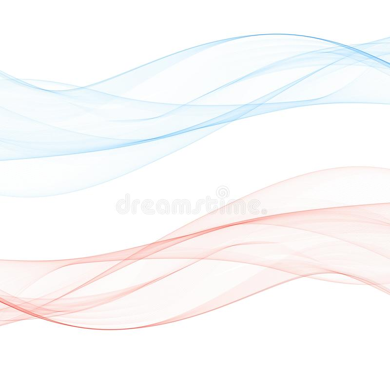Vector Pink Abstract Background Pink Waves Color Line For