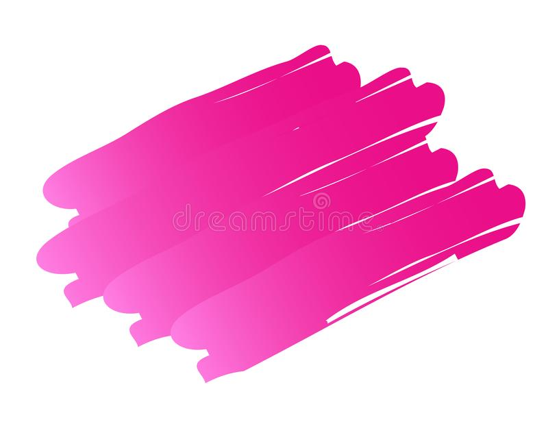 Vector pink background. Colorful abstract texture. Vector design elements. Vector pink splash. Violet art background. Grunge frame. Handmade unique stock image