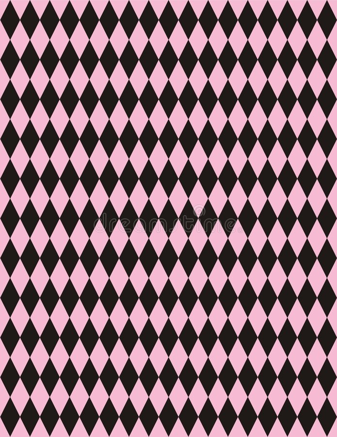 Free Vector Pink Black Harlequin Background Stock Images - 665844
