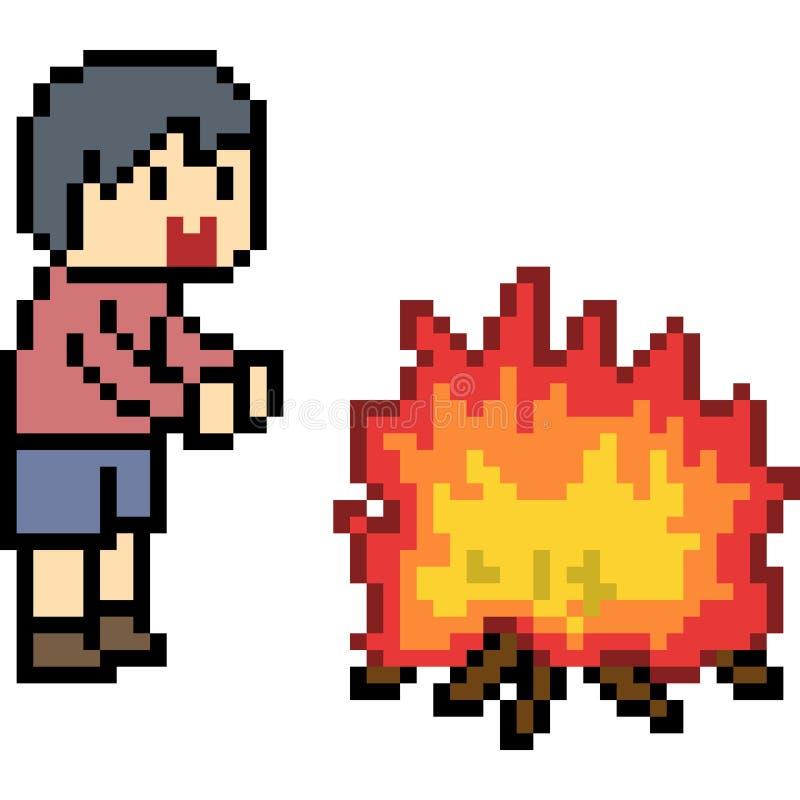 Fire Kid Warm Stock Illustrations 64 Fire Kid Warm Stock