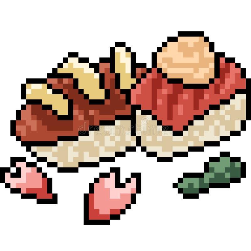 Sushi Pixel Stock Illustrations 281 Sushi Pixel Stock Illustrations Vectors Clipart Dreamstime