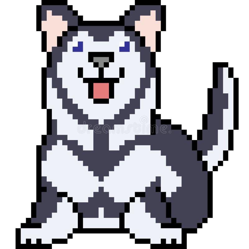 Pixel Husky Stock Illustrations 21 Pixel Husky Stock