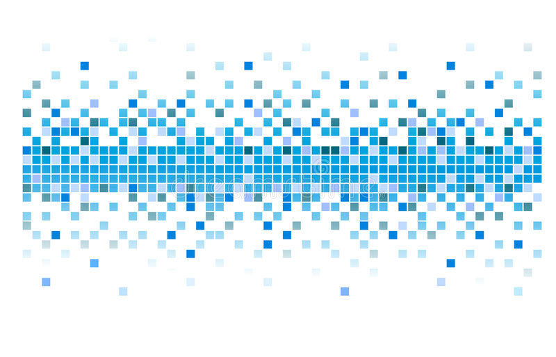 Download Vector pixels stock vector. Image of grid, pattern, design - 7844031
