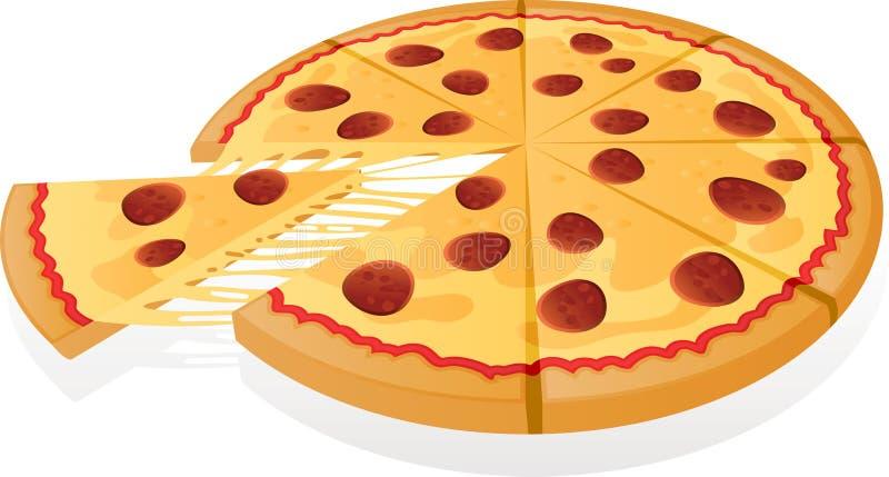 Vector Pizza stock illustration
