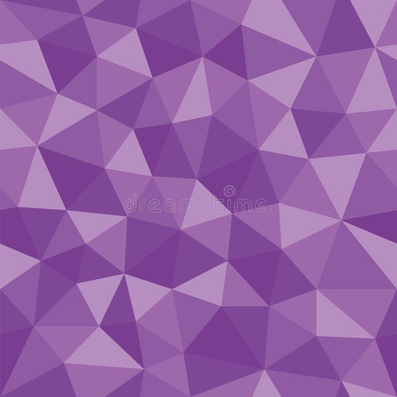 Vector polivinílico bajo abstracto ilustración del vector