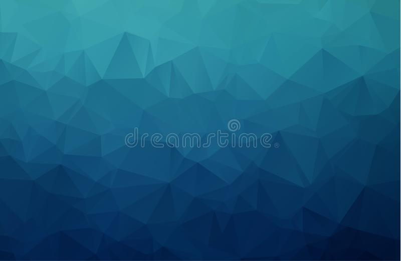 Vector Polygon Abstract modern Polygonal Geometric Triangle Background. stock illustration