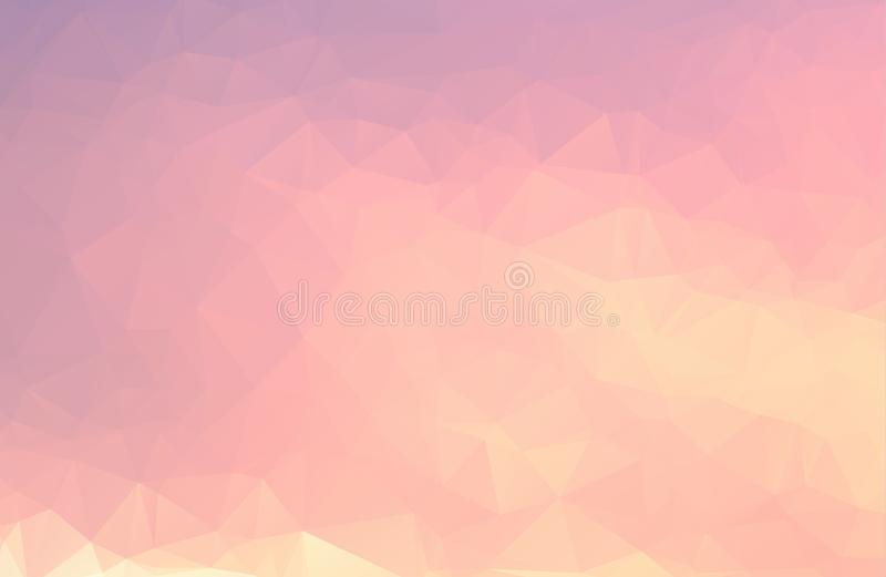 Vector Polygon Abstract modern Polygonal Geometric Triangle Background. royalty free illustration
