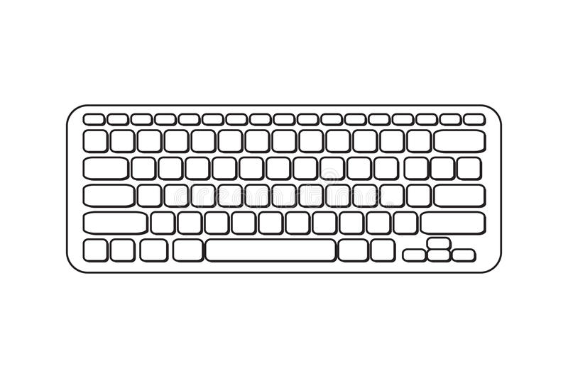 Clipart computer black and white, Clipart computer black and white  Transparent FREE for download on WebStockReview 2020