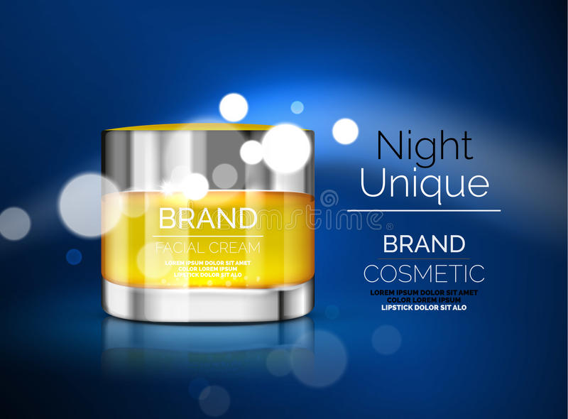 Download Vector Premium Cream Ads Stock Illustration - Image: 83710953