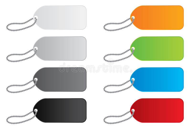 Download Vector Price Tags In 8 Colors Stock Vector - Image: 10648323