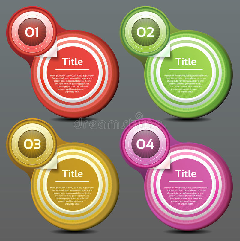 Download Vector Progress Background / Product Choice Or Version Stock Vector - Image: 38133753