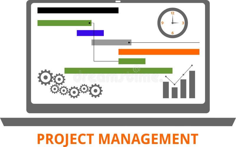 Vector - project management vector illustration