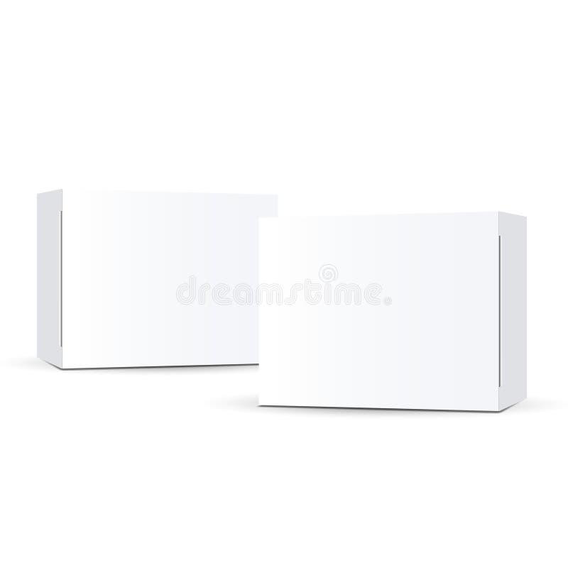 Vector que empaqueta en el fondo blanco imagen de archivo libre de regalías