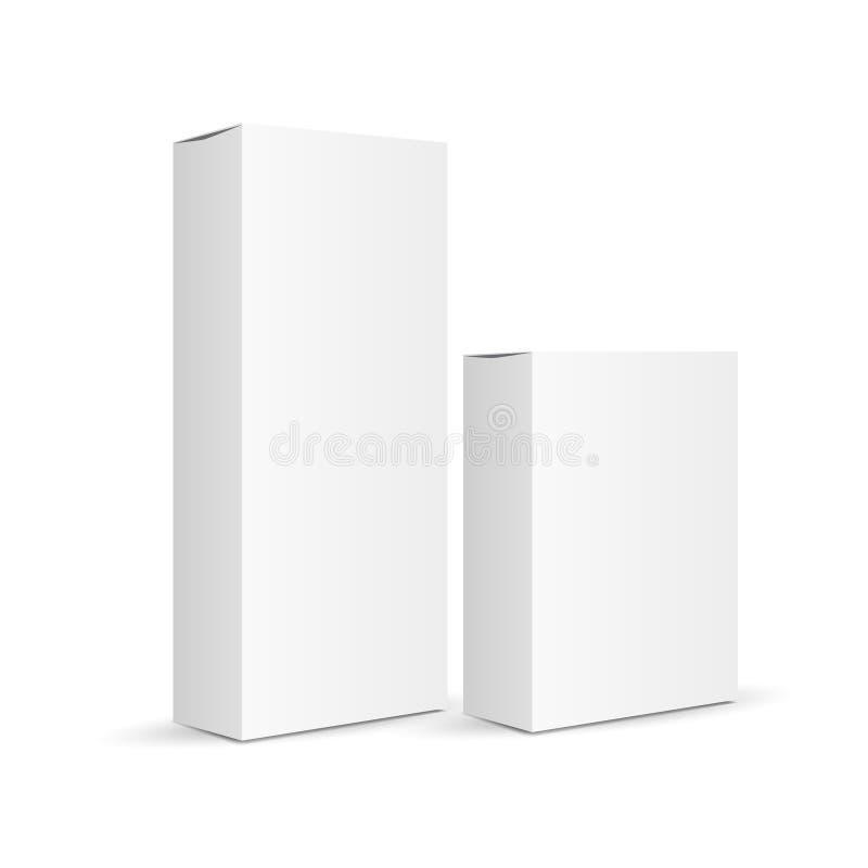 Vector que empaqueta en el fondo blanco foto de archivo libre de regalías