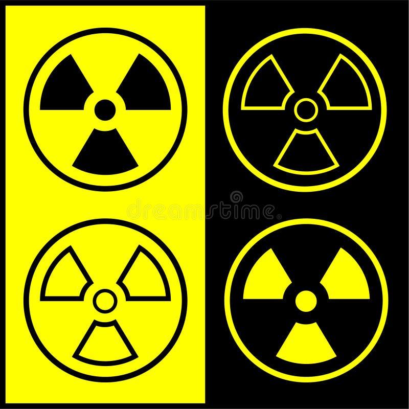 Download Vector Radiation Symbol Icon Stock Vector - Illustration: 8057028
