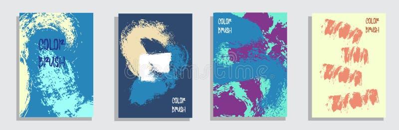 Vector Rahmen für Grafiken Text moderner Kunst für Hippies Bunter Rahmen der dynamischen Streifen des Rahmens stilvollen hellen D stock abbildung