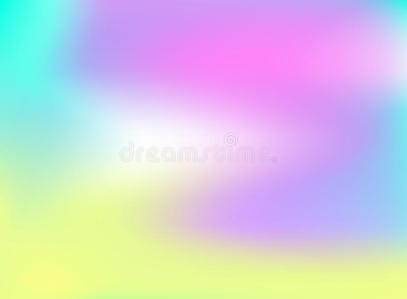 Vector Rainbow Colored Holographic Background, Shining Rainbow Colored Backdrop. Vector Rainbow Colored Holographic Background, Shining Rainbow Colored Backdrop vector illustration