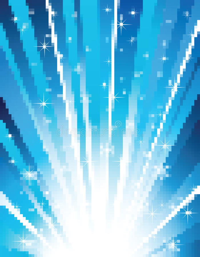 Download Vector Random Blue Mosaic Stock Images - Image: 15101234
