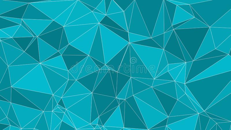 Vector random lines connected, technology background vector illustration