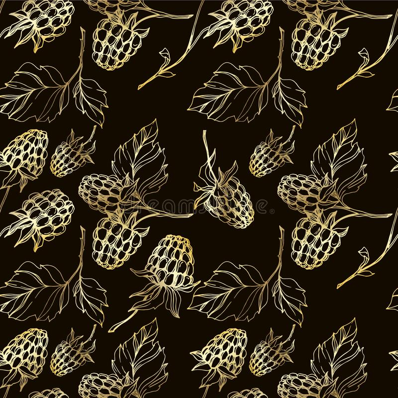 black on browns -Etched Jungle print Fabric