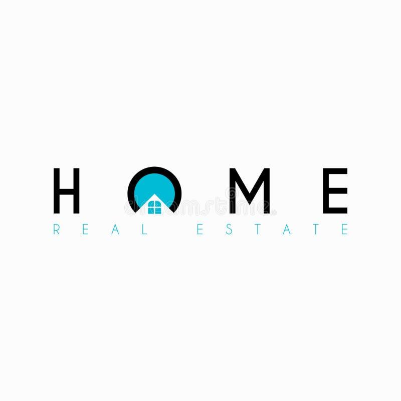 Vector Real Estate Initial Letter O Logo Design Template