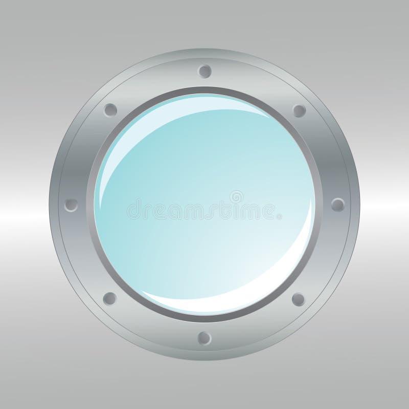 Download Vector Realistic Metallic Porthole. Stock Vector - Image: 15902081
