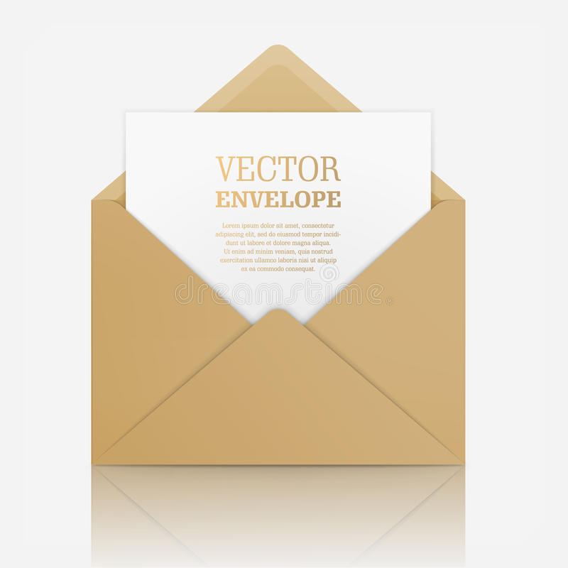 Vector realistic mockup of envelope stock vector illustration of download vector realistic mockup of envelope stock vector illustration of invitation correspondence stopboris Choice Image