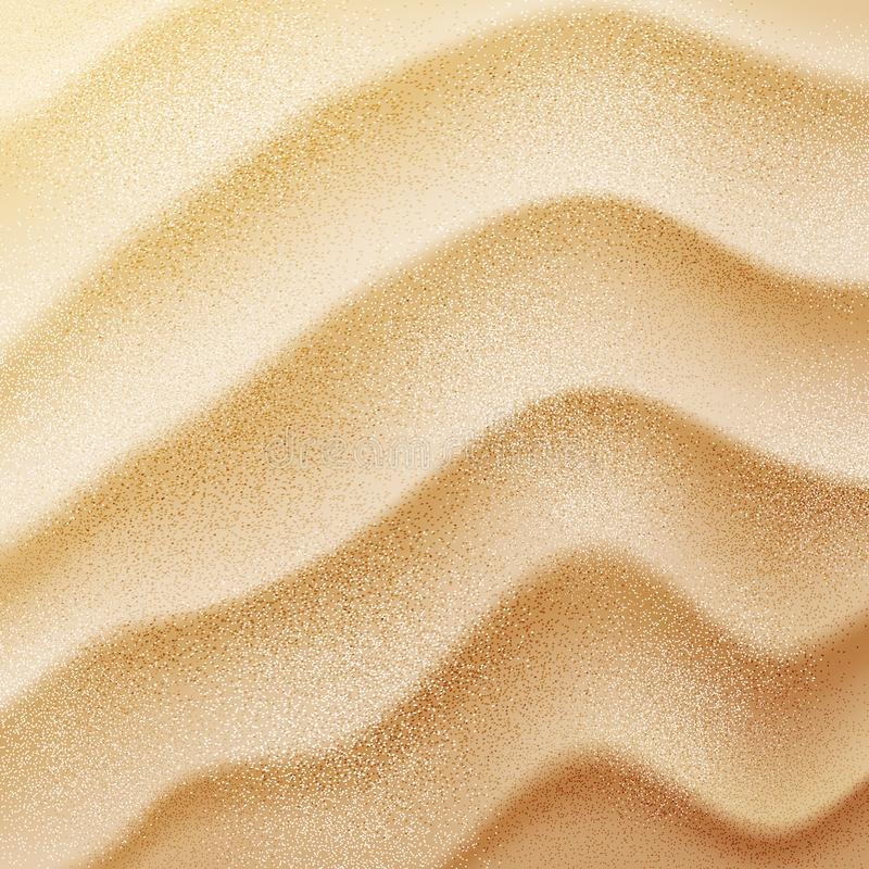 Vector realistic sand texture royalty free stock photos