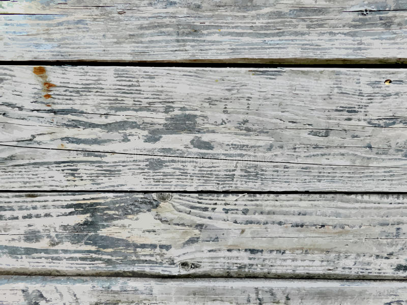 Vector realistic wood texture background royalty free illustration