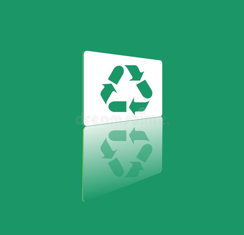 vector recycle symbol stock photo