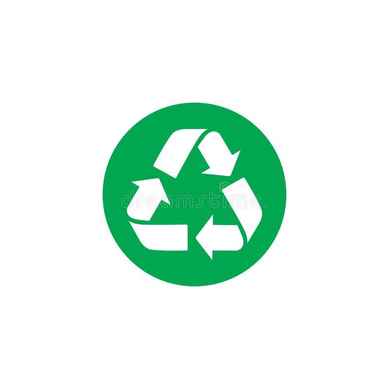 Vector recycle symbol. recycle icon. color icon. Vector recycle symbol. recycle vector icon. color icon vector illustration