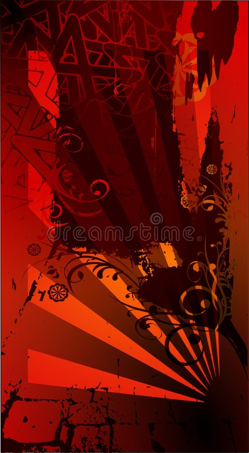 Free Vector Red Background Royalty Free Stock Images - 4720959