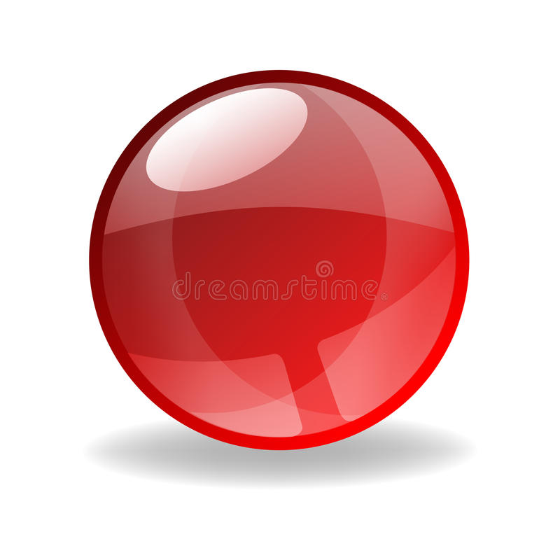Free Vector Red Sphere Royalty Free Stock Images - 11220559
