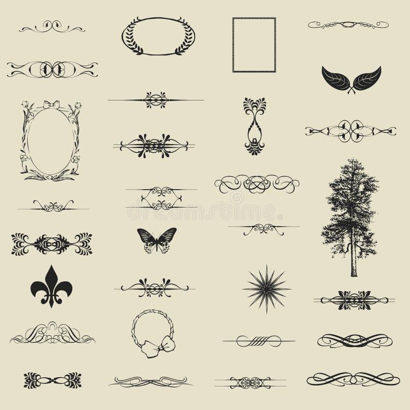 Vector reeks. royalty-vrije illustratie