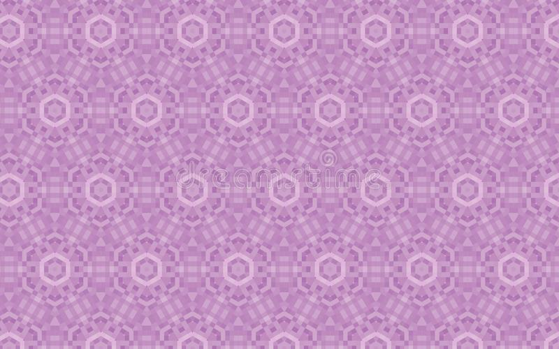 Vector repeating pattern in lilac and mauve calm colors royalty free illustration